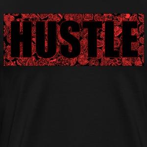 Hustle red'n'black - Men's Premium T-Shirt