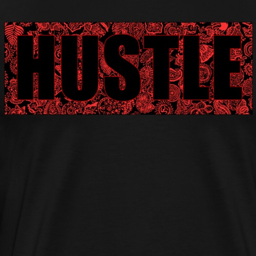 Hustle red'n'black - Men's Premium T-Shirt