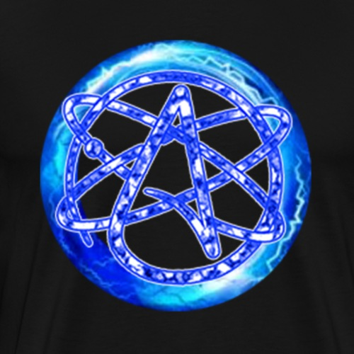 Electric Atheist #3 - Men's Premium T-Shirt