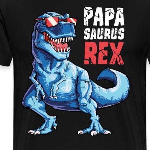 PAPA SAURUS REX TShirt - Men's Premium T-Shirt