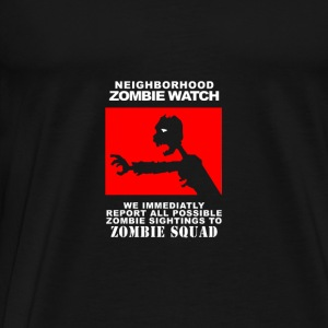 Zombie Watch - Men's Premium T-Shirt