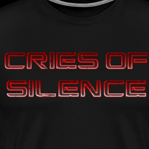 Cries of Silence - Men's Premium T-Shirt