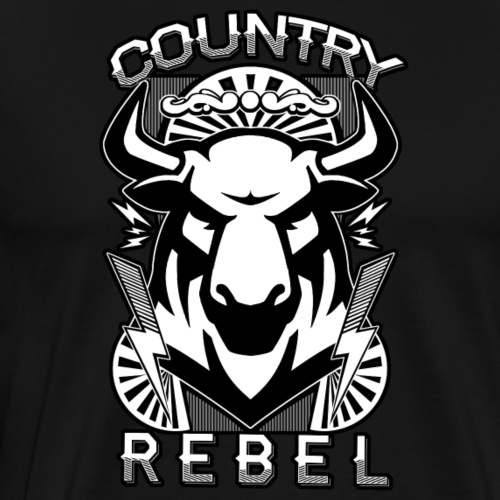 Country Rebel - Men's Premium T-Shirt