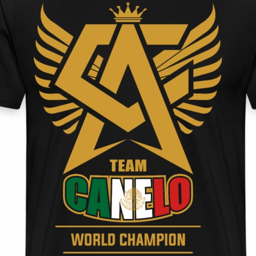 Team canelo world champion - Men's Premium T-Shirt
