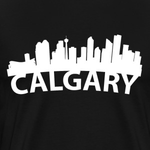 Arc Skyline Of Calgary Alberta Canada - Men's Premium T-Shirt