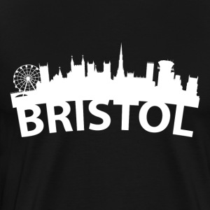 Arc Skyline Of Bristol England - Men's Premium T-Shirt