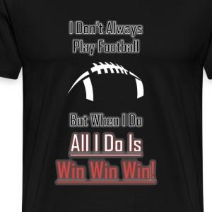 Football Win Logo - Men's Premium T-Shirt