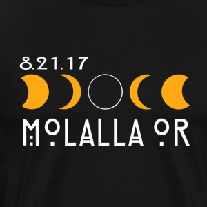 Molalla Oregon Total Solar Eclipse 2017 - Men's Premium T-Shirt
