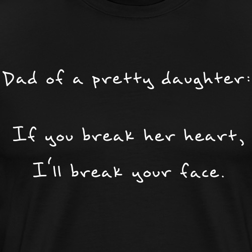 A Dad's Promise - Men's Premium T-Shirt