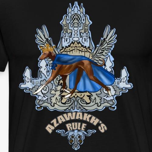 Azawakh's Rule - Men's Premium T-Shirt