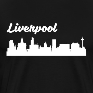 Liverpool Skyline - Men's Premium T-Shirt