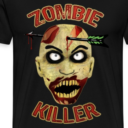 Zombie Killer - Men's Premium T-Shirt
