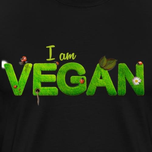 vegan go - Men's Premium T-Shirt