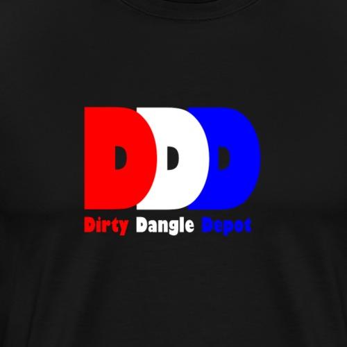 DDD Red/White/Blue - Men's Premium T-Shirt