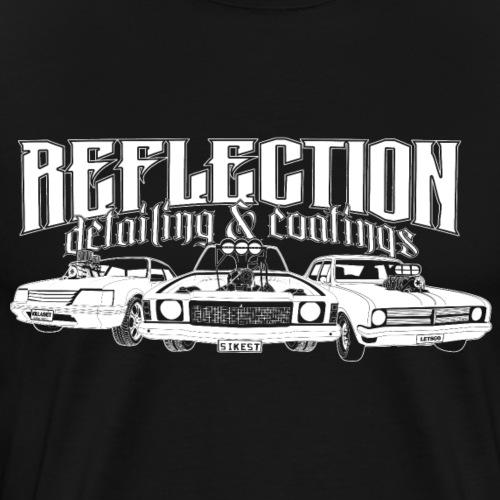 REFLECTION DETAILING & COATINGS Design - Men's Premium T-Shirt