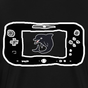 don't put a dolphin in a wii u - Men's Premium T-Shirt