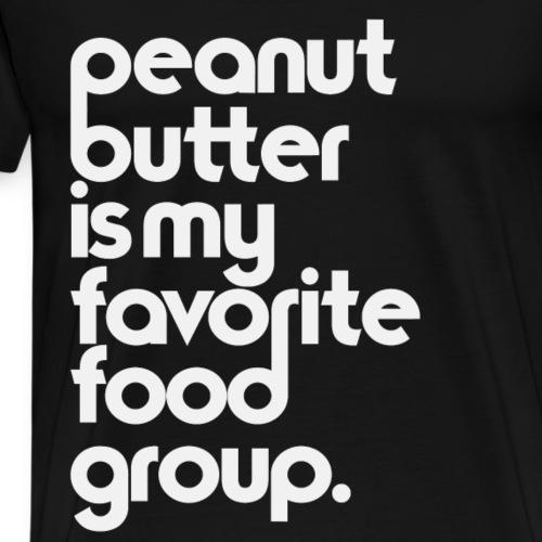 Peanut Butter - Men's Premium T-Shirt