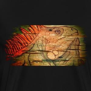 Wooden Iguana - Men's Premium T-Shirt