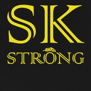 SK STRONG Gold - Men's Premium T-Shirt
