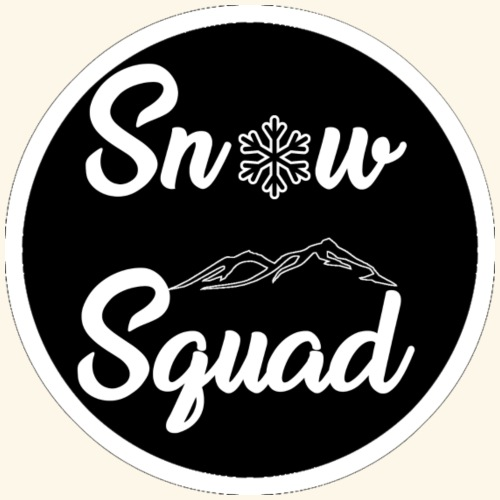 Black SnowSquad Logo - Men's Premium T-Shirt