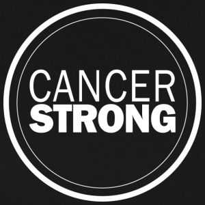 White Cancer Strong Logo - Men's Premium T-Shirt