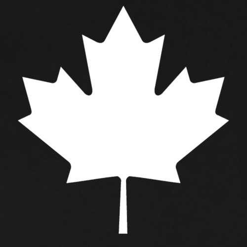 Canada Leaf White - Men's Premium T-Shirt