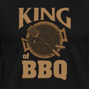 KING of BBQ - Men's Premium T-Shirt
