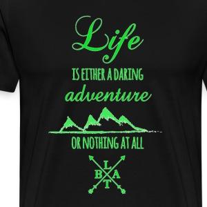 Daring Adventure LTBA - Men's Premium T-Shirt