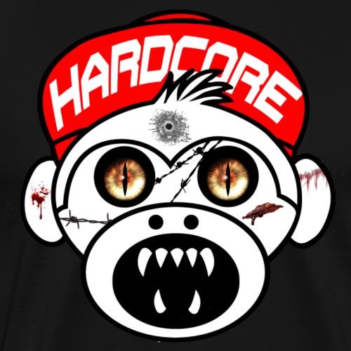 Hardcore Monkey - Men's Premium T-Shirt