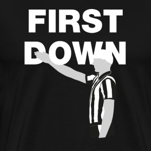 First Down - Men's Premium T-Shirt