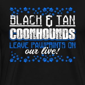 COONHOUND PAWPRINTS CLOTHING SHIRT - Men's Premium T-Shirt