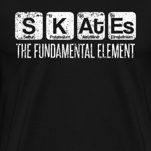 Skates The Fundamental Element Periodic Table - Men's Premium T-Shirt