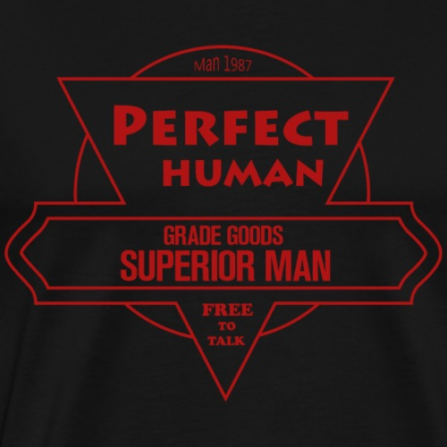 PERFECT HUMAN - Men's Premium T-Shirt