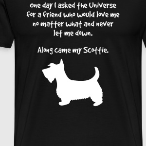 Along Came Scottie Inspirational - Men's Premium T-Shirt