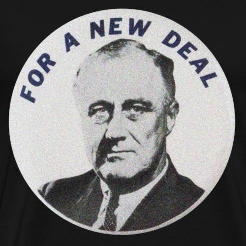 For a New Deal - Men's Premium T-Shirt