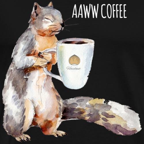 Squirrel Coffee - Men's Premium T-Shirt