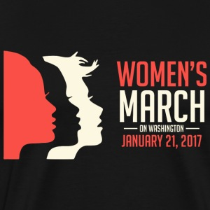 Women's March on Washington - Men's Premium T-Shirt
