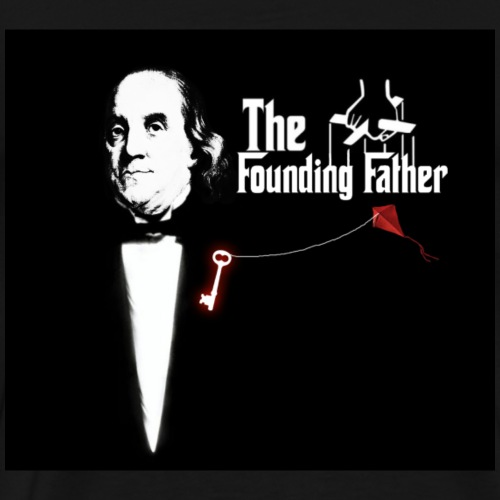 Ben Franklin Founding Father Movie - Men's Premium T-Shirt