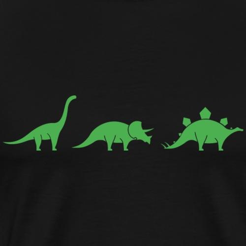 3 little dinos - Men's Premium T-Shirt