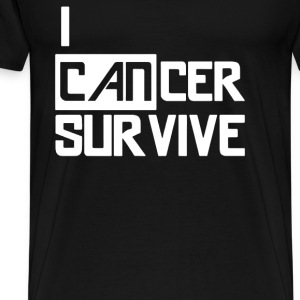 I Can Survive Cancer - Men's Premium T-Shirt