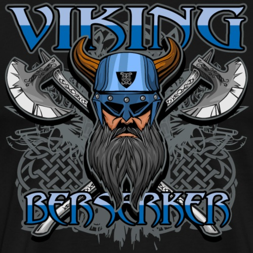 Viking Berserker Celtic Hero - Men's Premium T-Shirt