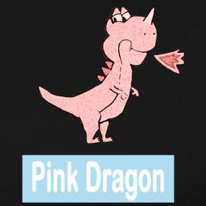 pink dragon logo - Men's Premium T-Shirt