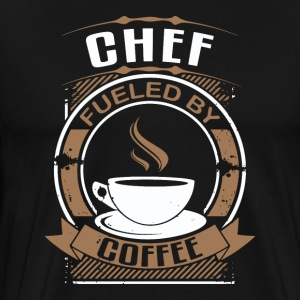 Chef Fueled By Coffee - Men's Premium T-Shirt
