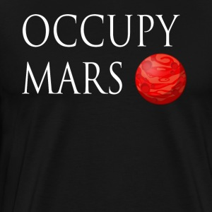Occupy Mars Space - Men's Premium T-Shirt