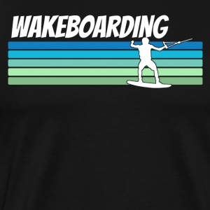 Retro Wakeboarding - Men's Premium T-Shirt