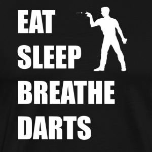 Eat Sleep Breathe Darts - Men's Premium T-Shirt