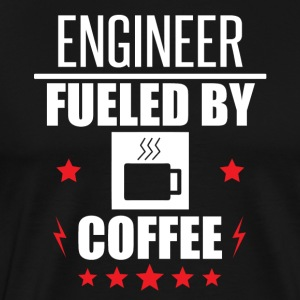 Engineer Fueled By Coffee - Men's Premium T-Shirt