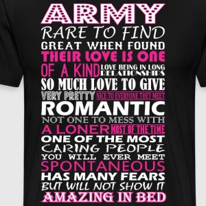 Army Rare To Find Romantic Amazing To Bed - Men's Premium T-Shirt