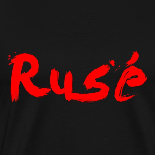 Rusé BLACK&RED - Men's Premium T-Shirt