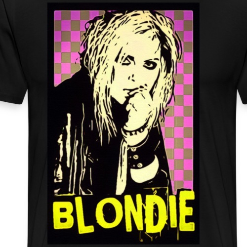 BLONDIE - PUNK - Men's Premium T-Shirt